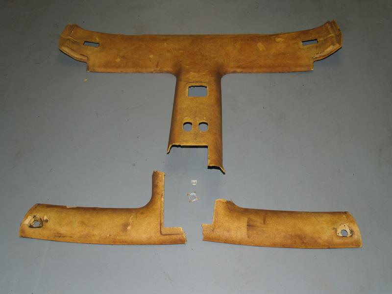 1987 iroc tpi 350 broken headliner board repair